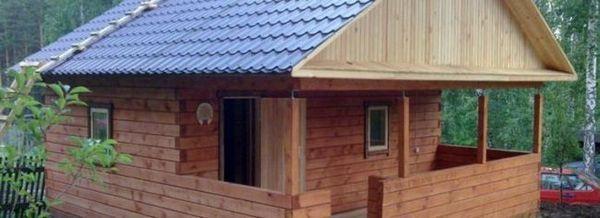 Оформяне на покрива на банята със собствените си ръце: опции за покрив, изчисляване на материалите, ръководство стъпка по стъпка