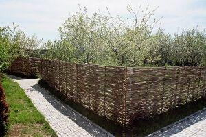 Ограда от клонки