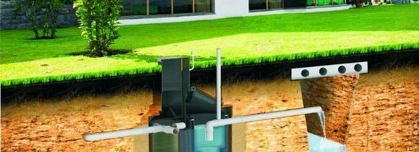 Какви видове канализация могат да се използват за селски дом?