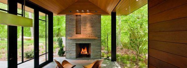 Камина за ваканционна къща