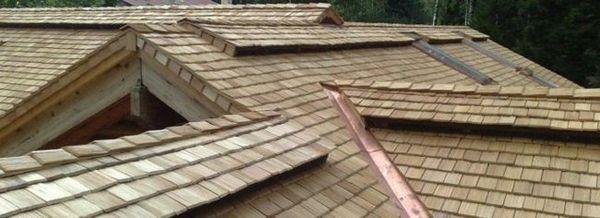 Покрив от екзотични материали