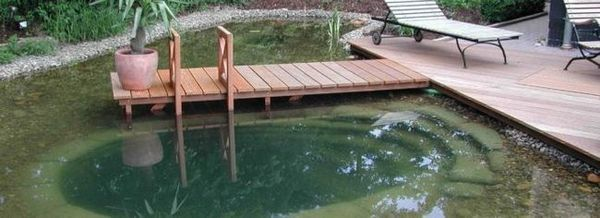 Оборудваме място за отдих във вилата близо до езерото