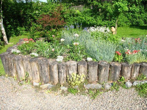 Огради в ролята на ограда за леглата