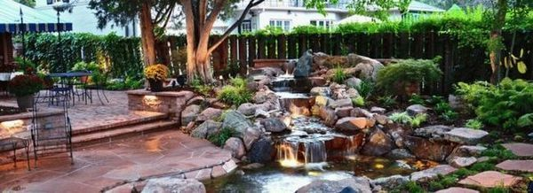Основни правила за избор на помпа за фонтан и каскаден поток