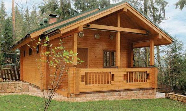 Къщи от дървен материал - модерен избор