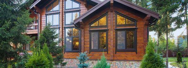 Модерна екологична дървена къща