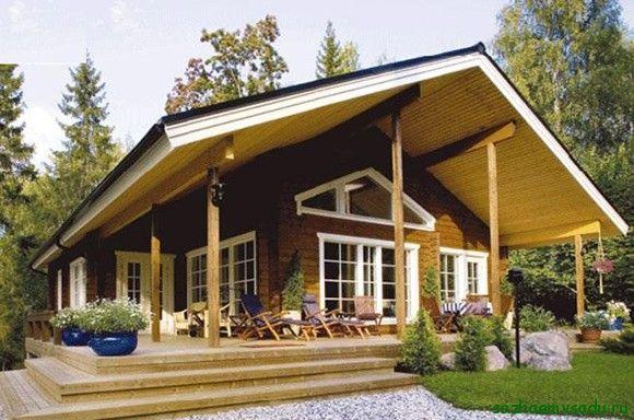 екологична дървена къща