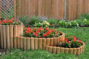 Ограда за цветните лехи - определена с назначаването!