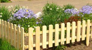Ограда за цветните лехи - определена с назначаването! снимка