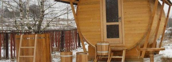 Изграждане на къща и вана от дървен материал