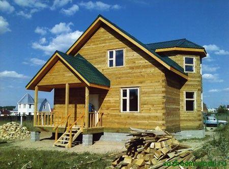 къща от дървен материал