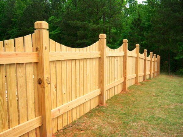 Ограда от дърво