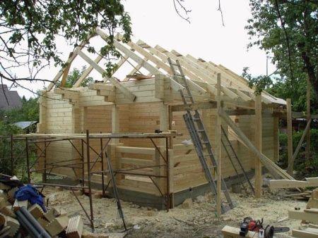 Изграждане на баня от бар
