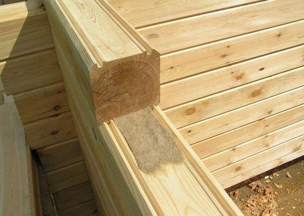 дървен материал konopatka