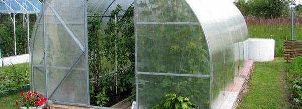 Поликарбонатни оранжерии