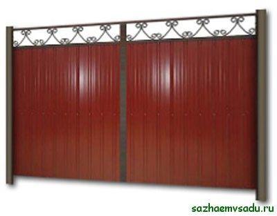 Порти за вили от гофриран борд