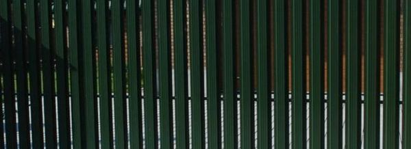 Ограда от евробара в дачата