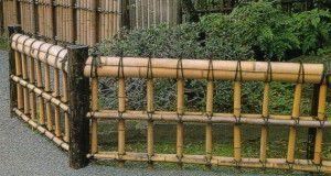 Огради за предната градина от дърво