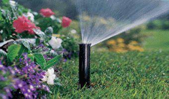поливане в градината